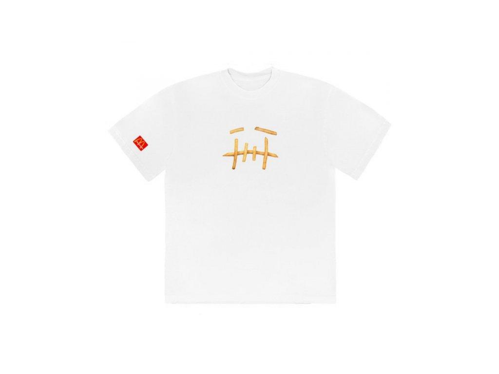 TRAVIS SCOTT X MCDONALDS FRY T SHIRT WHITE HYPE CLOTHINGA LIMITED EDITION 600x600