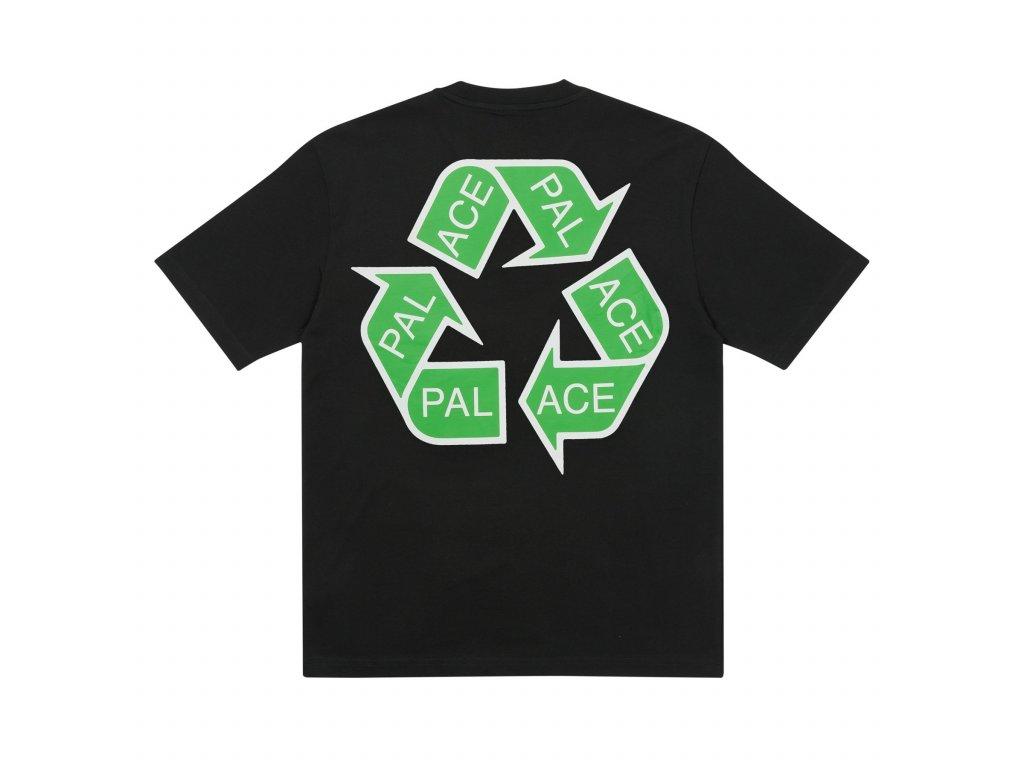 Palace SS21 T Shirt BLACK TEE BACK