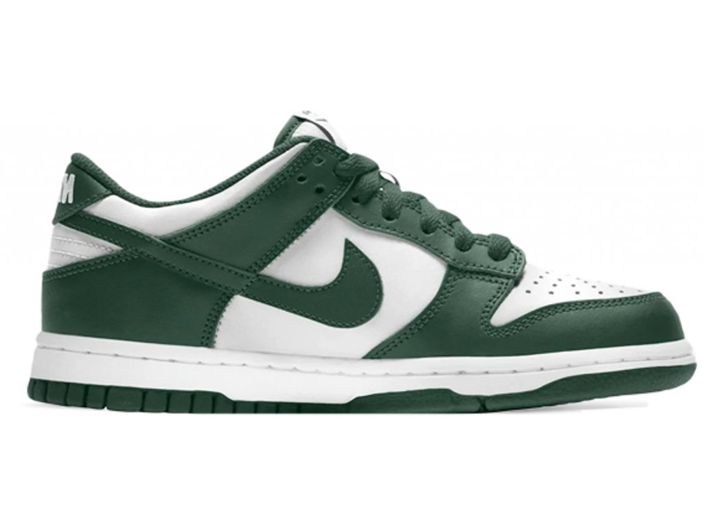 Nike Dunk Low Spartan Green GS result
