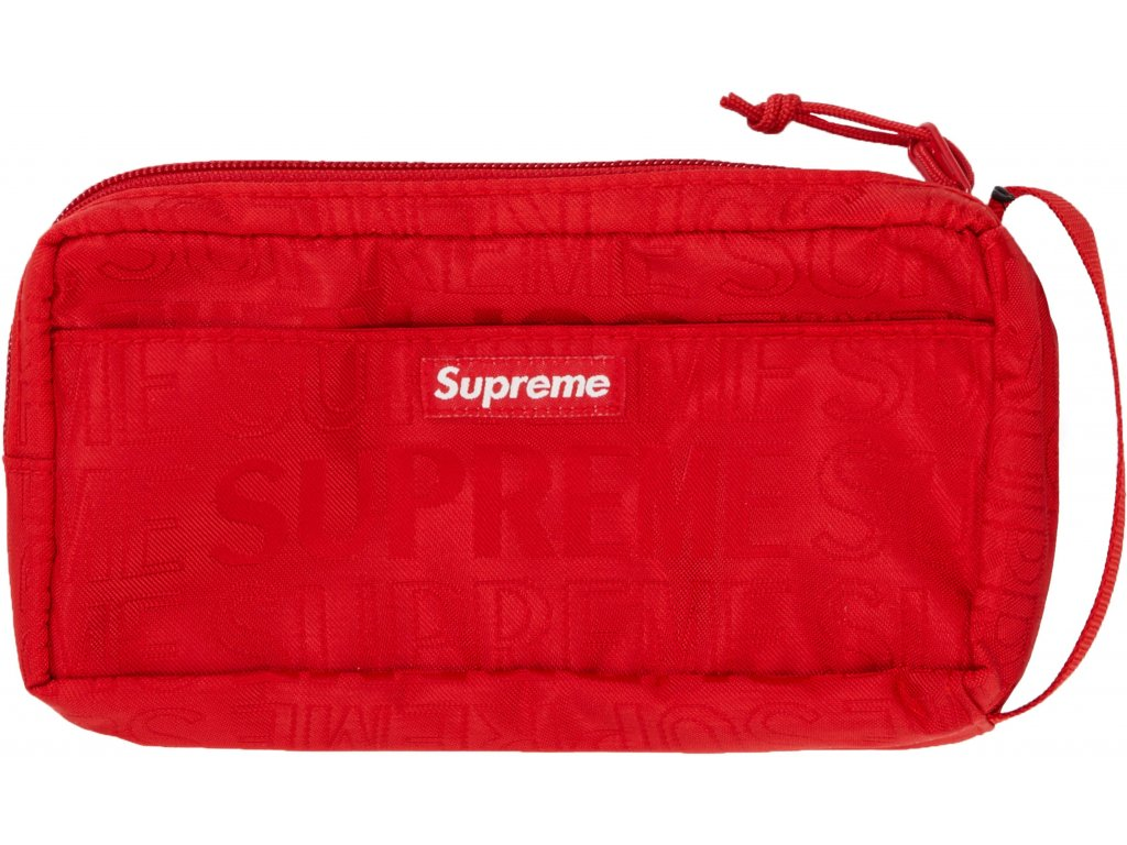 Supreme Organizer Pouch SS19 Red result