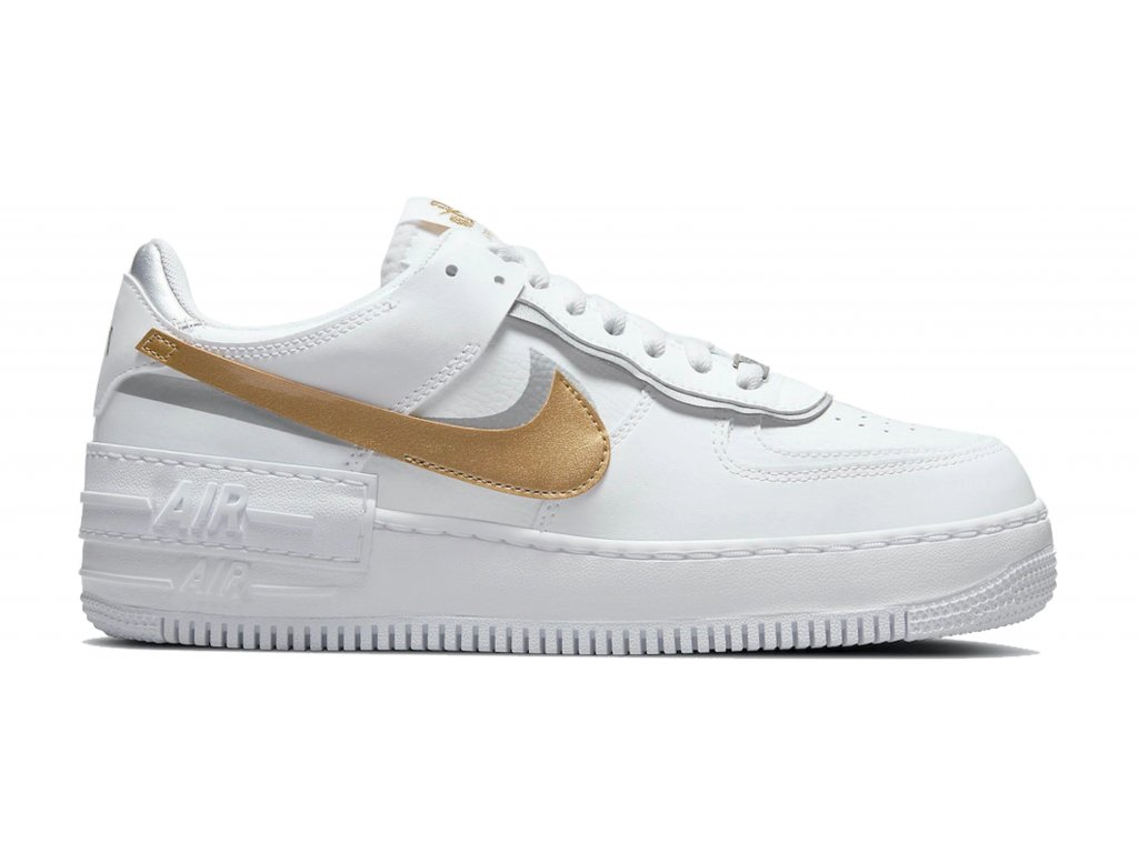 Nike Air Force 1 Low Shadow White Gold W result