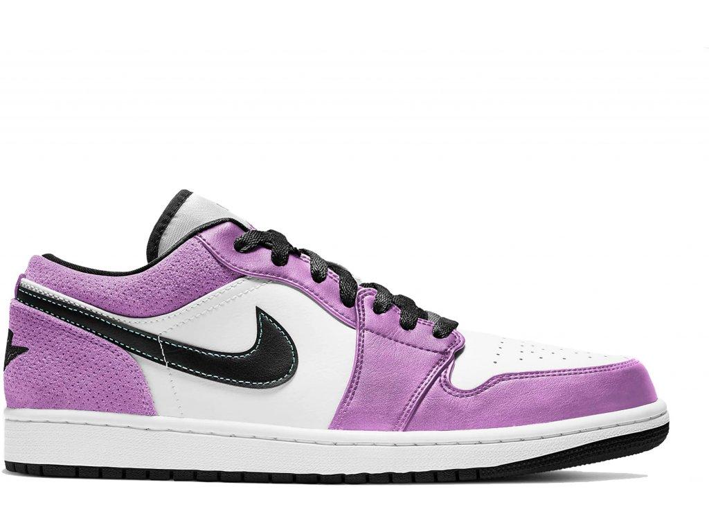 Air Jordan 1 Low SE Violet Shock White Black result