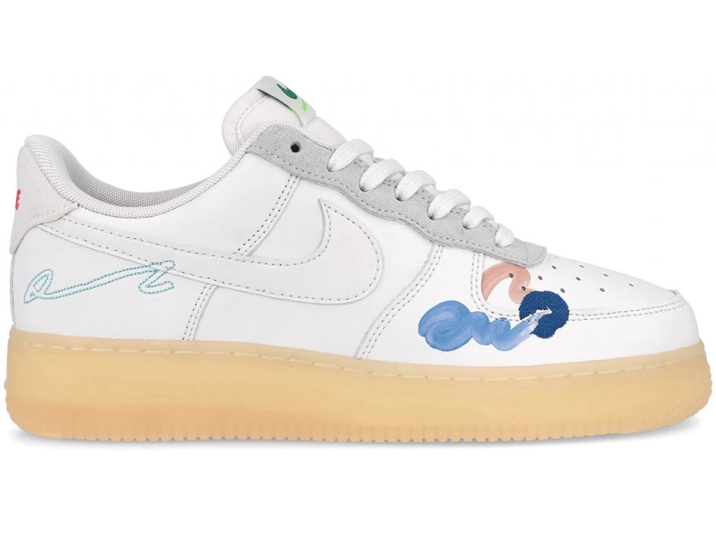 Nike Air Force 1 Flyleather Mayumi Yamase White result