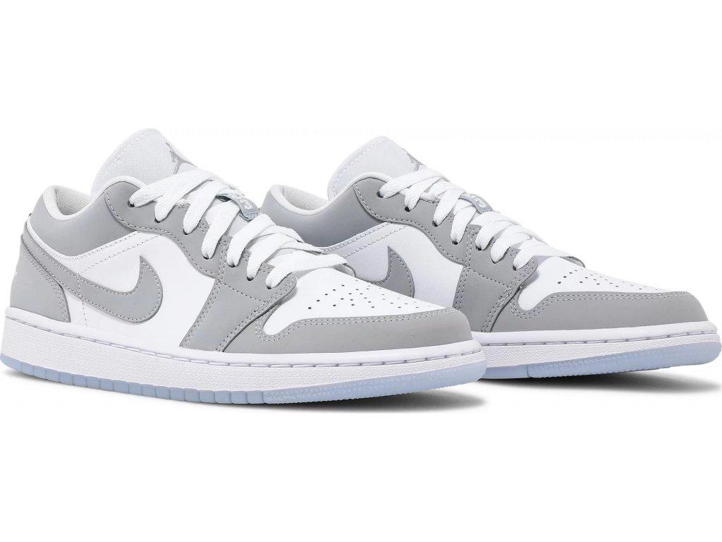 Jordan 1 Low Wolf Grey (W)