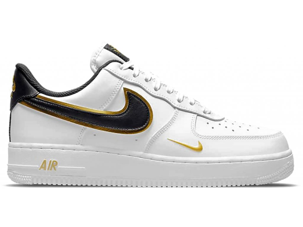Nike Air Force 1 07 White Metalic Gold result