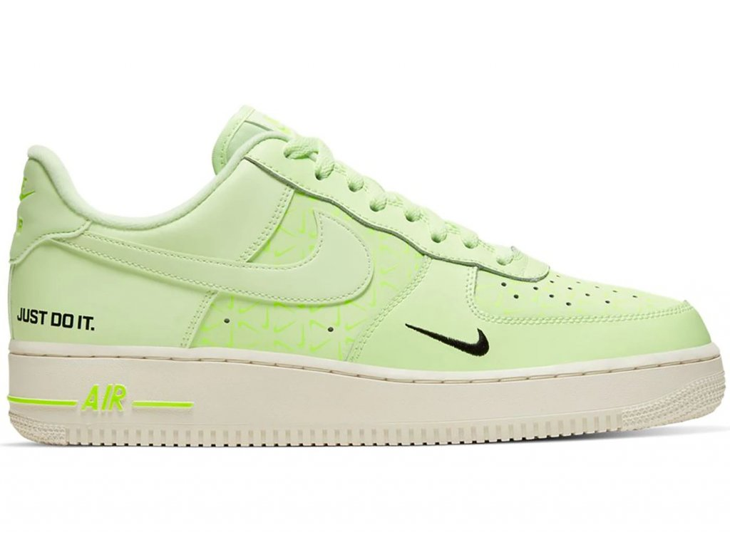 Nike Air Force 1 Low Just Do It Barely Volt result