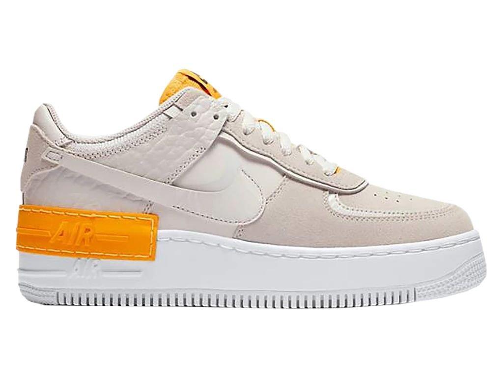 Nike Air Force 1 Shadow Vast Grey Laser Orange W (1) result