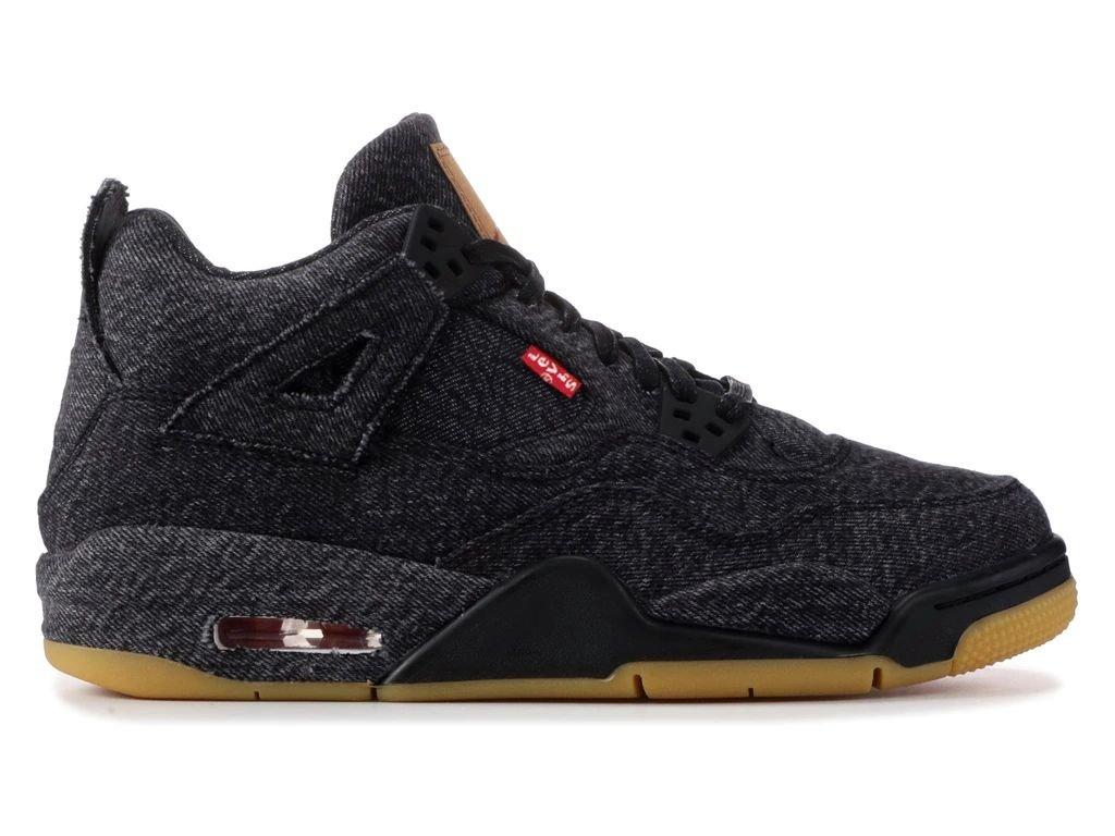 Air Jordan 4 Retro Levis Black GS WT 1 result