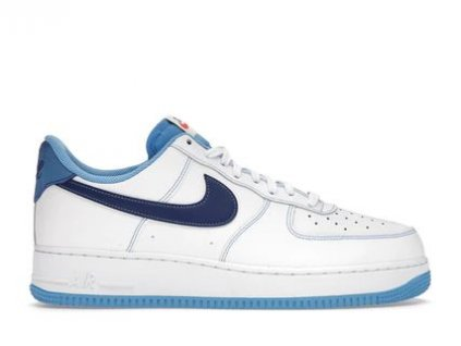 Air Force 1 Low First Use White University Blue