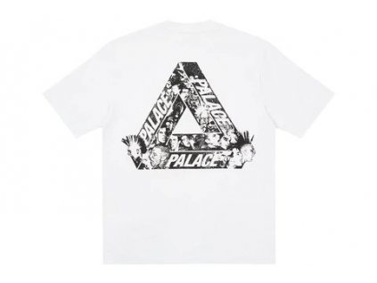 Palace Tri Heads T shirt White result