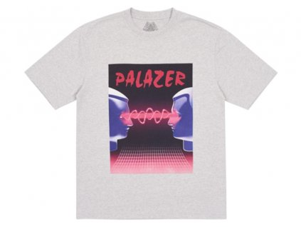 Palace Palazer T Shirt Grey Marl