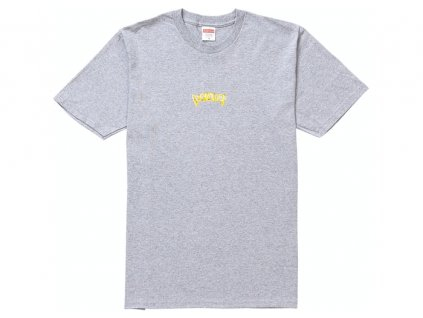 Supreme Fronts Tee Heather Grey