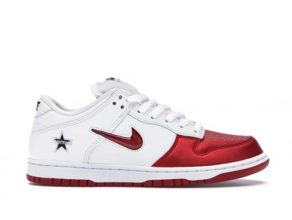 Nike SB Dunk Low x Supreme Red (Velikost 46)