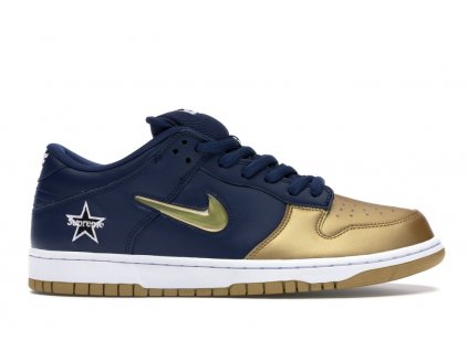Nike SB Dunk Low x Supreme Gold (Velikost 42.5)