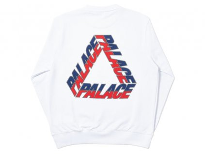 Palace Split P3 Crew White 2