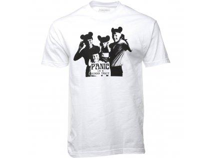 Pleasures White Human Trait T Shirt Front 2000x