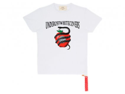 OFF WHITE Undercover Apple T Shirt White Multicolor.png