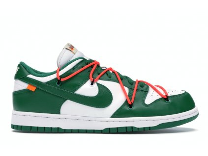 Nike SB Dunk Low Off-White Pine Green (Velikost 36.5)
