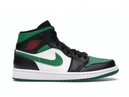 Jordan 1 Mid Green Toe (Velikost 42)