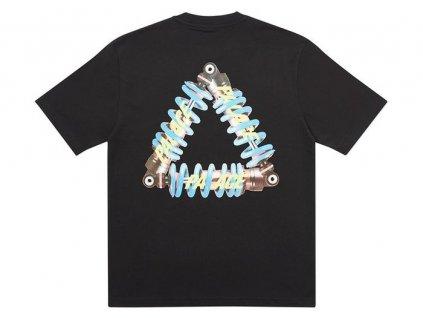 Palace Tri Pumping T Shirt Black 2