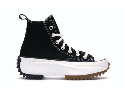 Converse Run Star Hike Hi Black White Gum (Velikost 42.5)