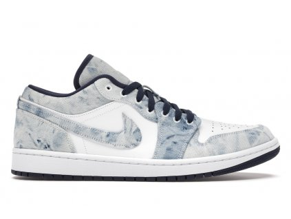 Jordan 1 Low Washed Denim (Velikost 40)