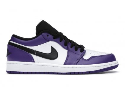 Jordan 1 Low Court Purple White (Velikost 40)