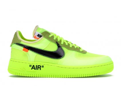 Air Force 1 Low Off-White Volt (Velikost 45.5)