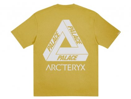 Palace ArcTeryx T Shirt Gold