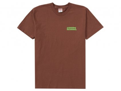 Supreme No More Shit Tee Brown 2