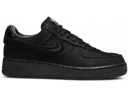 Nike Air Force 1 Low Stussy Black (Velikost 41)