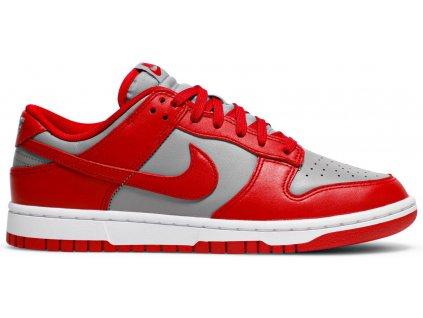 Nike Dunk Low Retro Medium Grey Varsity Red UNLV (Velikost 43)