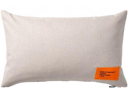 Virgil Abloh x IKEA MARKERAD Pillow Beige