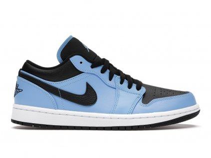 Jordan 1 Low University Blue Black (Velikost 40)