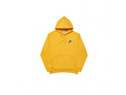 Palace Felt P Hoodie Yellow