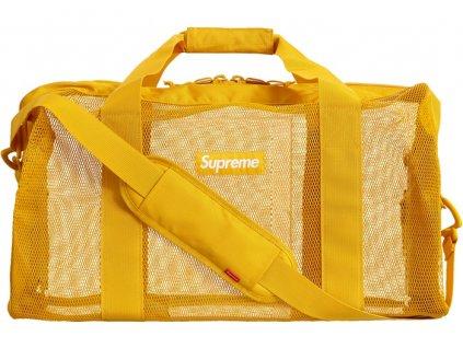 Supreme Big Duffle Bag SS20 Gold