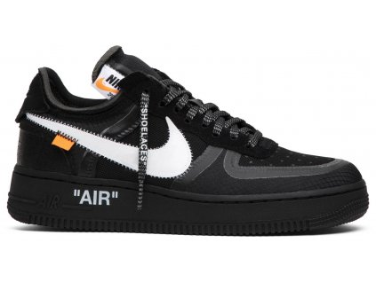 Air Force 1 Low Off-White Black White (Velikost 36)