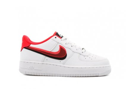 swoosh red airforce