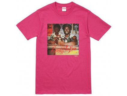 Supreme Wilfred Limonius Buy Off The Bar Tee Pink (Velikost M)