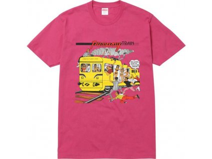 punany train tee pink