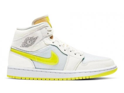 jordan 1 mid se voltage yellow w900