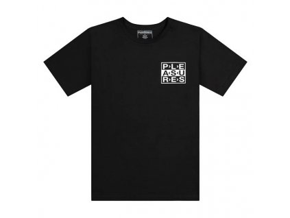 Pleasures FRAGILE T SHIRT Black 1