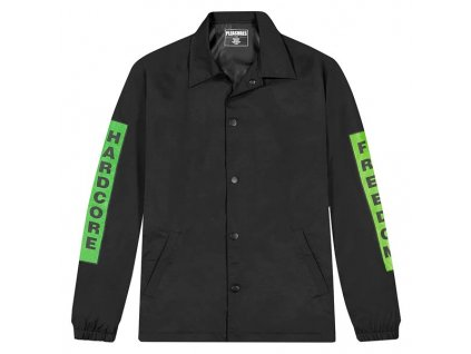 Pleasures Hardcore Freedom Coach Jacket Black 1