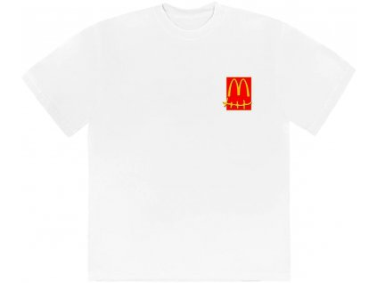 Travis Scott x McDonalds Action Figure Series T Shirt White result