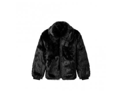 392 1 nike x ambush reversible faux fur coat black sail 3
