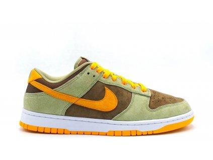 Nike Dunk Low Olive Brown Orange result