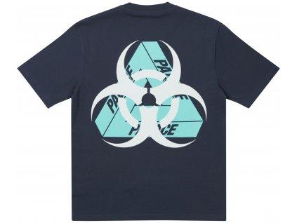 Palace Bio Hazard T Shirt Navy result