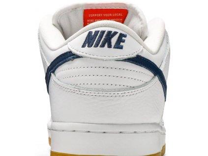 Nike SB Dunk Low Orange Label White Navy