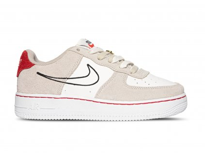 Air Force 1 Low First Use Light Sail Red (GS)