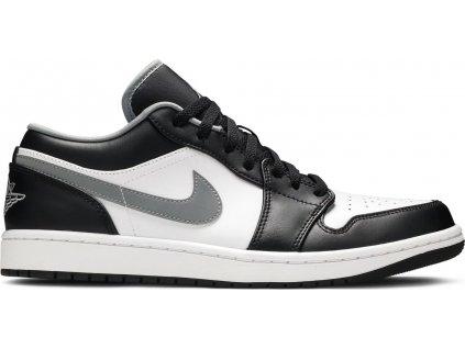 Air Jordan 1 Low Black White Grey result